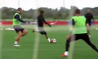 Marcus Rashford Goal Video Man Utd Ace Shines In England Training