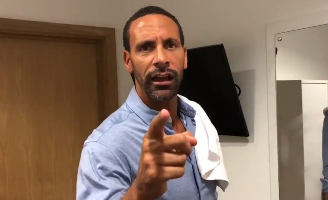 rio ferdinand video