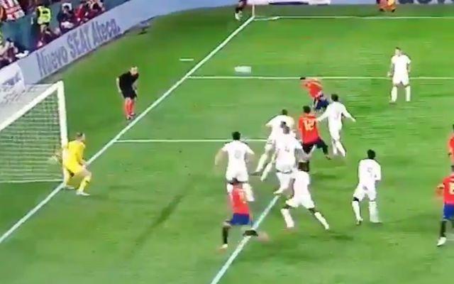 Video: Paco Alcacer goal for Spain vs England