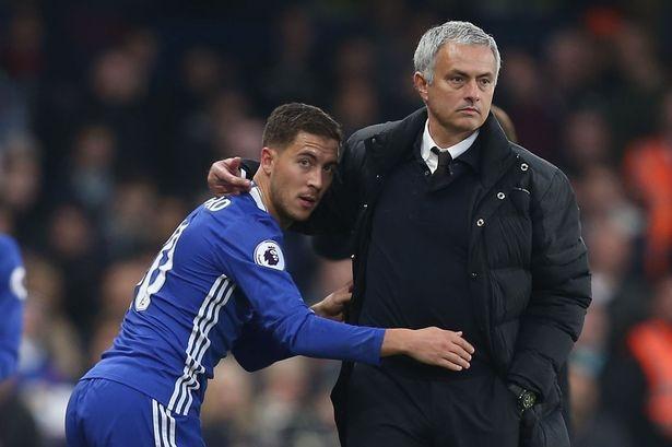 Hazard on Mourinho