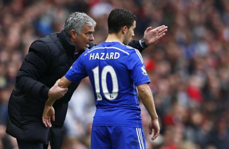Hazard praises Mourinho