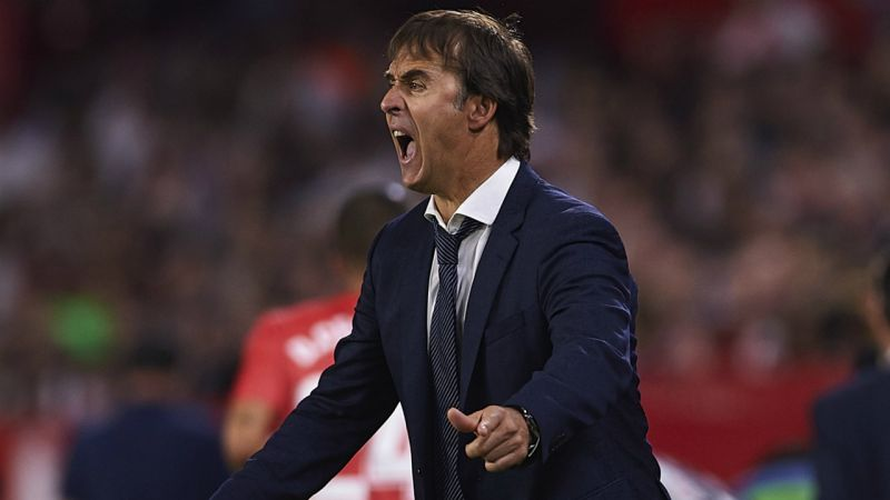 Lopetegui three games to save Real Madrid job, Conte ready
