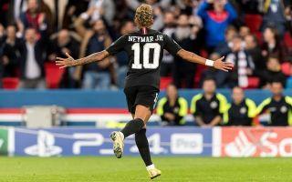 0ee8d611fd0b Video  Neymar seals hat-trick with this incredible strike for Paris Saint  Germain against Red Star Belgrade
