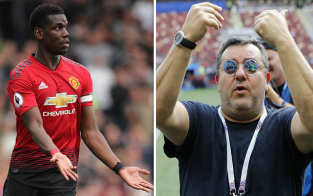Pogba's agent 'agrees deal' for United star to join Barcelona