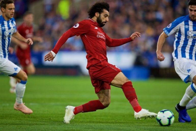 Salah vs Huddersfield
