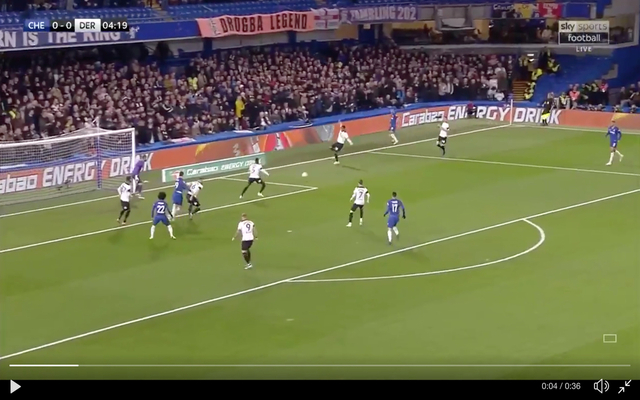 Video: Horror as Derby's Fikayo Tomori scores disastrous own goal against parent club Chelsea