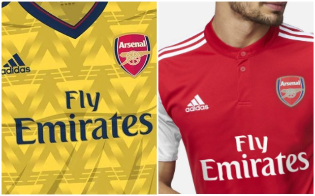 Descripción del negocio cuchara en caso  Arsenal Adidas kit deal: Fans call for bruised banana return