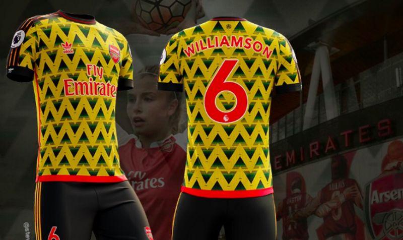 official photos 65b0c 31dde Arsenal Adidas kit deal: Fans call for bruised banana return