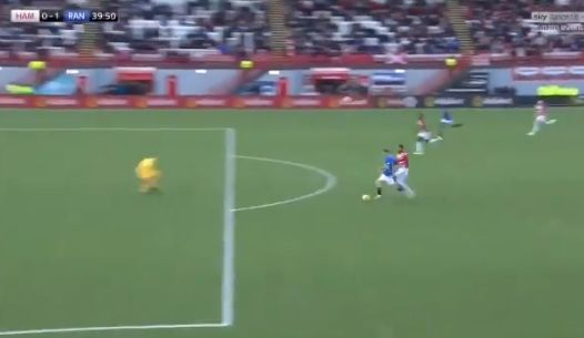 Video: Liverpool loanee executes expert finish to help Steven Gerrard to managerial first