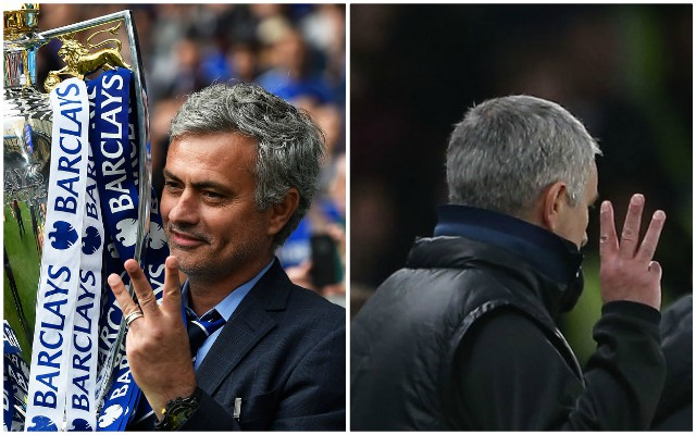 Chelsea Was That A Man: Chelsea Trolling Man Utd Manager Jose Mourinho