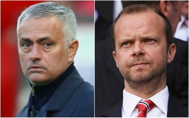 Man United Mourinho sack latest after Woodward talks