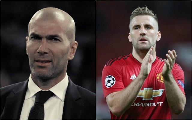 Man Utd news: Shaw contract hint over Zidane and Mourinho