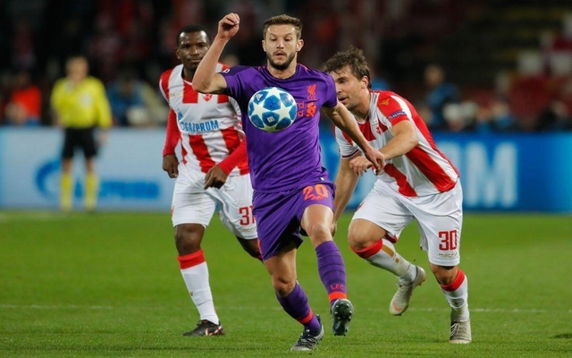 Adam Lallana vs Red Star