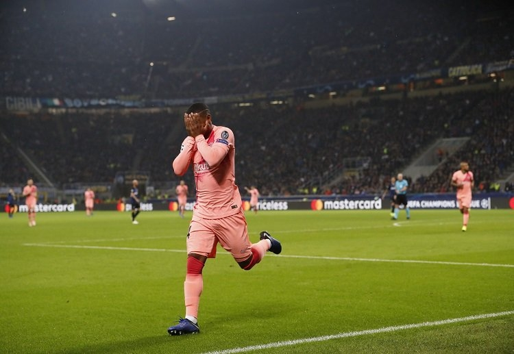 Malcom reduced to tears after scoring first goal for Barcelona