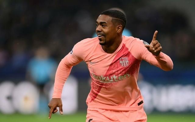 Malcom scores first goal for Barcelona vs Inter Milan