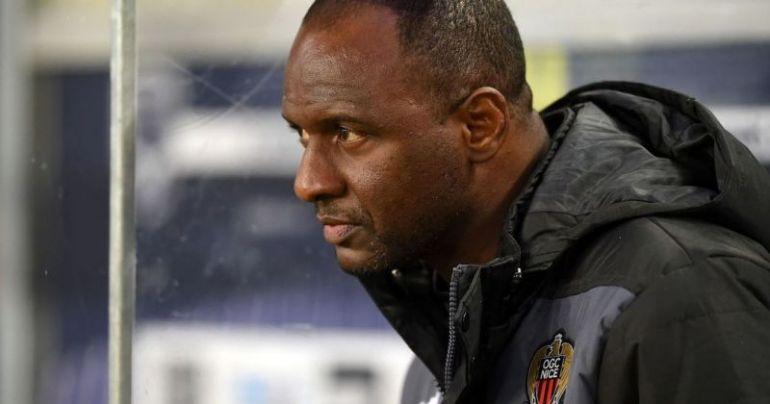 Patrick Vieira managing Nice