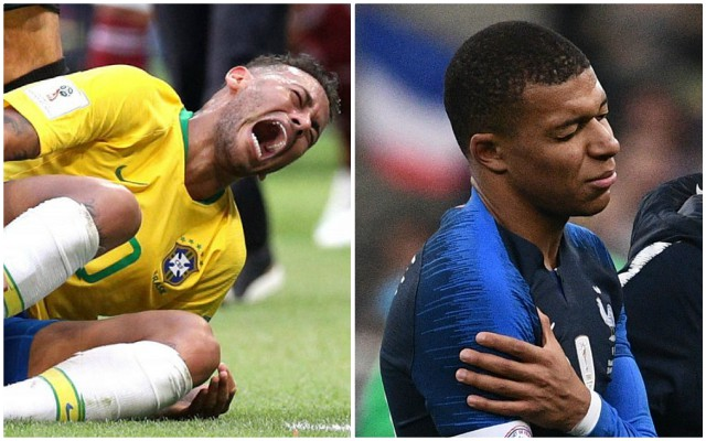up PSG Liverpool Mbappe line Neymar injury: vs