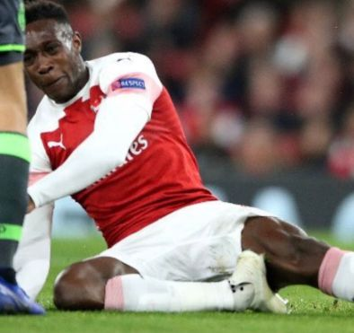 welbeck injury sporting