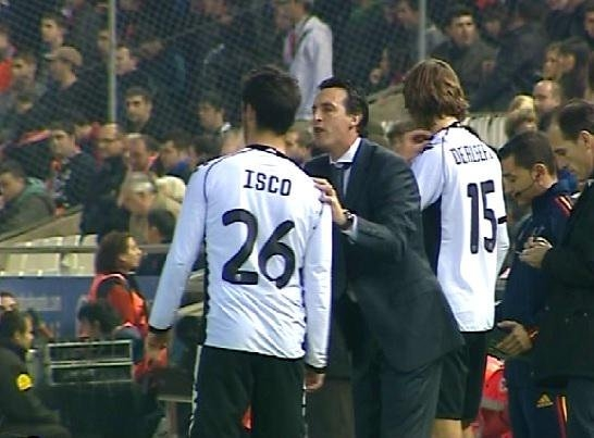 Isco-and-Unai-Emery