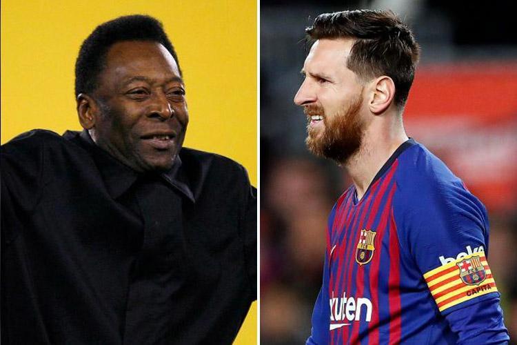 Jordi Alba's response to Pele over recent Messi comments