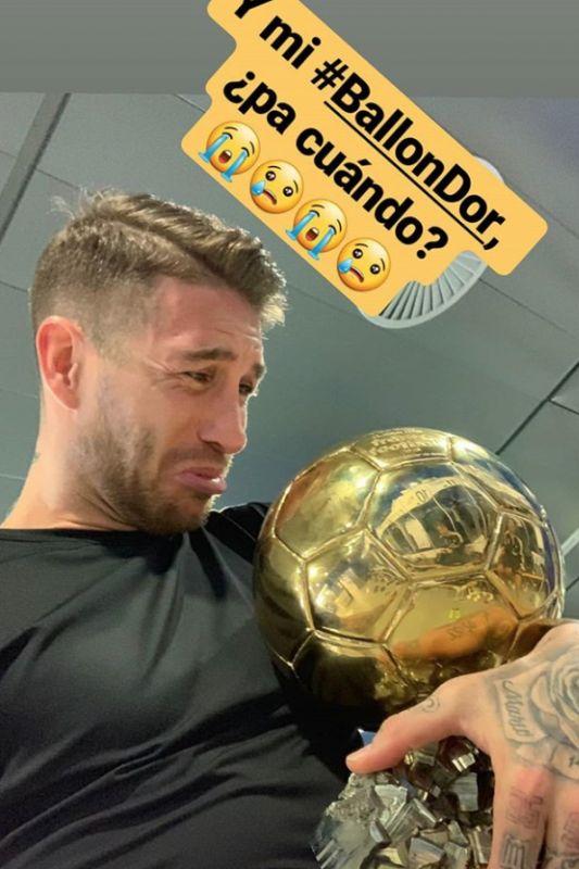 Sergio Ramos Ballon d'Or