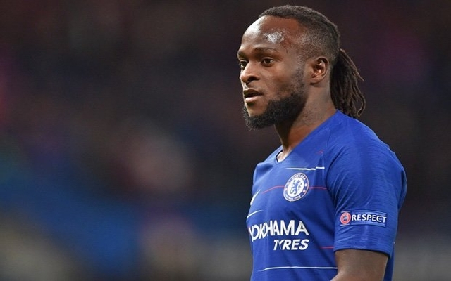 Victor Moses to make return to Crystal Palace