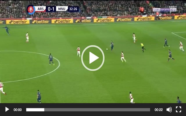 Arsenal counter after United vs lovely Lingard scores Video: