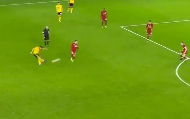 Video Ruben Neves Goal For Wolves Vs Liverpool