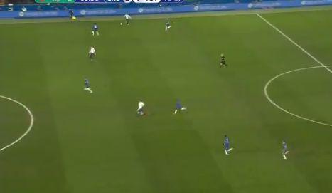 Christian Eriksen Pass Video For Spurs Vs Chelsea