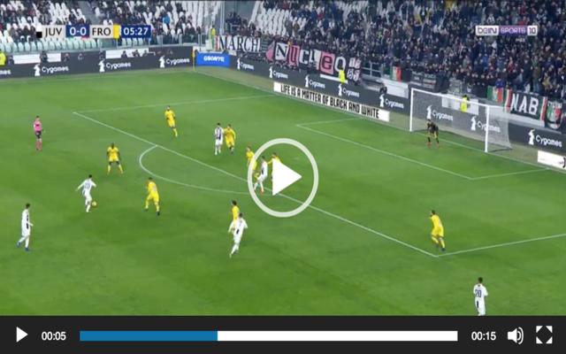 Video: Dybala's amazing goal for Juventus after Ronaldo assist