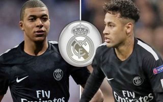 1390f21b0 Tuchel responds to transfer rumours linking PSG duo Mbappe and Neymar to Real  Madrid