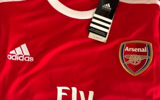 249de071 (Photos) Arsenal 2019/20 Adidas kit seemingly leaked online, retro design  should prove a hit with fans