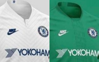 reputable site ac87a 26d8e Chelsea 2019/20 green away kit leaked