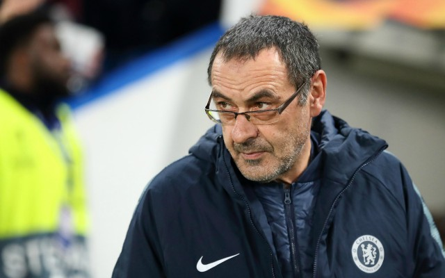 Maurizio Sarri hoping to sign forgotten Chelsea ace for Lazio this summer