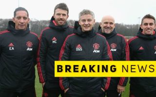 Man United S Gary Walker Exit Announced On Twitter