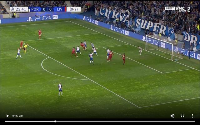 Video: Mane scores for Liverpool vs Porto after Salah's shot