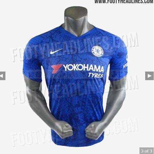 san francisco dc513 e82f9 Chelsea 2019/20 home kit leaked online