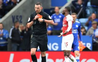 4535ac33bd1 Referee subjected to threatening and abusive messages over decision in  Arsenal defeat to Leicester