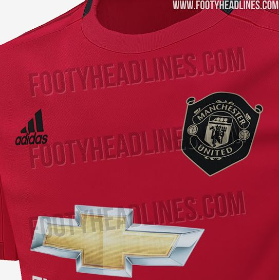 71f5d14d731 Man United 2019 20 home kit pictures leaked