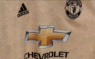 check out f52b5 3adc6 Photos) - Manchester United's away kit for next season leaked