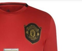 ebeb1433d5b  Hope this is a joke  – These Manchester United fans react to  awful  leaked  home kit
