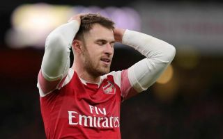 939eba537 (Photo) Aaron Ramsey sends emotional message to Arsenal fans following  injury news