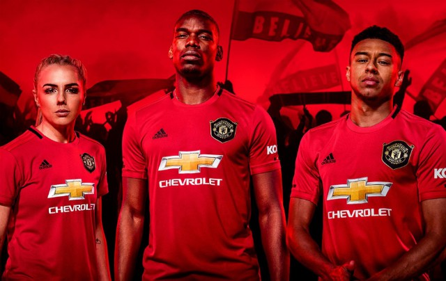 United home kit 2019/20 new pictures Manchester