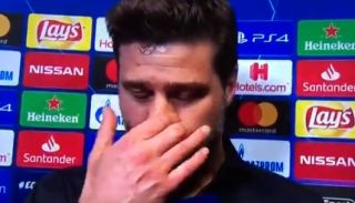 Pochettino Crying Interview After Tottenham Ajax Video