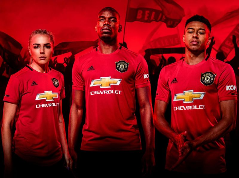 online store 2ec00 a34e0 Manchester United 2019/20 new home kit pictures