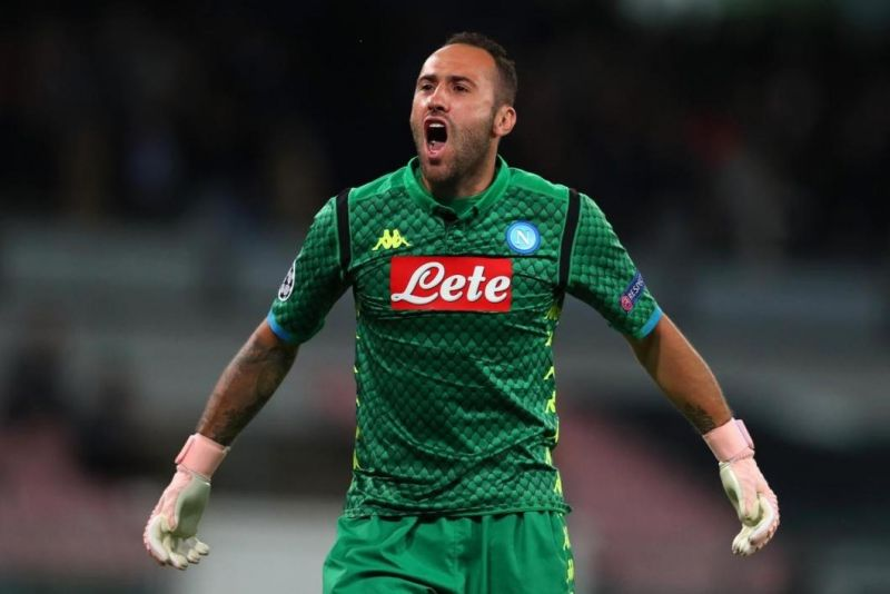 David Ospina linked with a move to Juventus amid uncertain future with Napoli