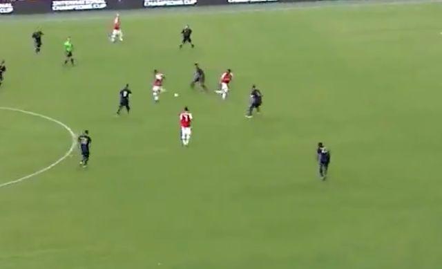 Video Lacazette Assist Aubameyang Goal For Arsenal