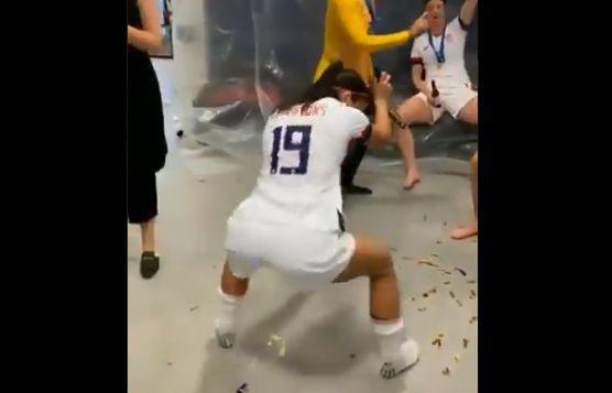 Alex Morgan twerking video