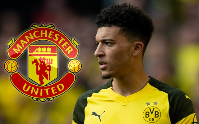 Man Utd boss Solskjaer confident of Sancho transfer