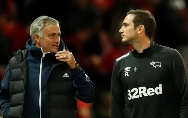 Mourinho on Lampard getting Chelsea job